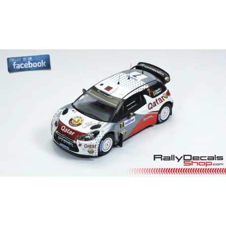 Citroen DS3 WRC - Thierry Neuville - Rally New Zealand 2012