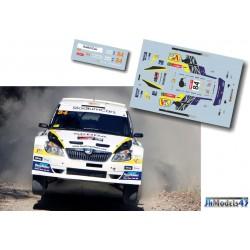 Hayden Paddon - Skoda Fabia S2000 - Rally Australia 2013