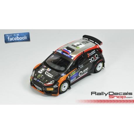 Ford Fiesta R5 - Alexey Lukyanuk - Rally Azores 2018