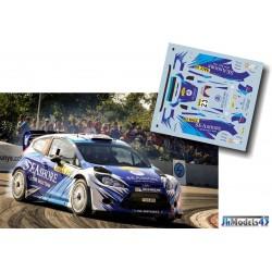 Abdulaziz Al-Kuwari - Ford Fiesta WRC - Rally Spain Catalunya 2013