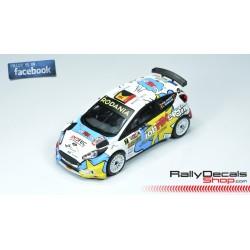 Ford Fiesta R5 - Pieter Jan Michiel Cracco - Rally TAC 2018