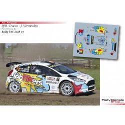Pieter Jan Michiel Cracco - Ford Fiesta R5 - Rally TAC 2018
