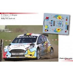 Philip Cracco - Ford Fiesta R5 - Rally TAC 2018