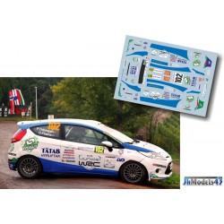 Pontus Tidemand - Ford Fiesta R2 - Rally France Alsace 2013