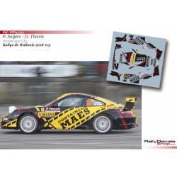 Patrick Snijers - Porsche 997 GT3 - Rally Wallonie 2018