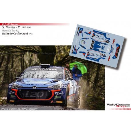 Surhayén Pernía - Hyundai i20 R5 - Rally do Cocido 2018
