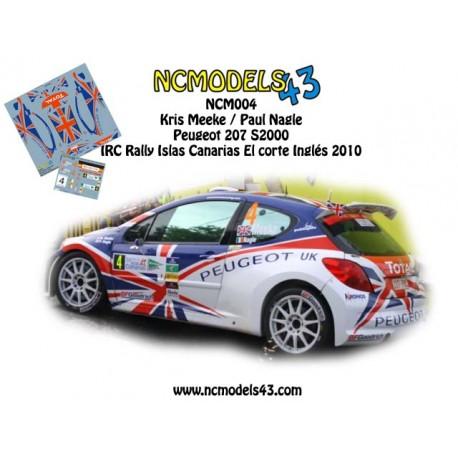 Kris Meeke - Peugeot 207 S2000 - Rally Islas Canarias 2010
