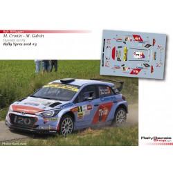 Keith Cronin - Hyundai i20 R5 - Rally Ypres 2018