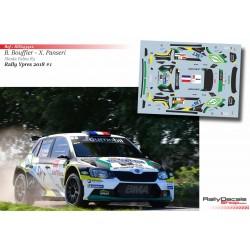 Bryan Bouffier - Skoda Fabia R5 - Rally Ypres 2018