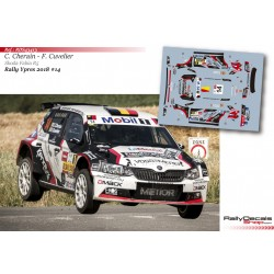 Cedric Cherain - Skoda Fabia R5 - Rally Ypres 2018