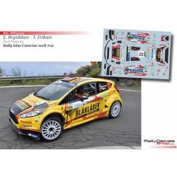 Eyvind Brynildsen - Ford Fiesta R5 - Rally Islas Canarias 2018
