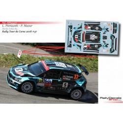 Lukasz Pieniazek - Skoda Fabia R5 - Rally Tour de Corse 2018