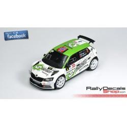 Skoda Fabia R5 - Ole C. Veiby - Rally Ypres 2018