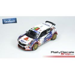 Skoda Fabia R5 - Bruno Magalhaes - Rally Islas Canarias 2018