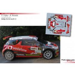 Pepe Lopez - Citroen DS3 R5 - Rally Ferrol 2018