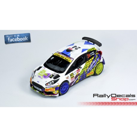 Ford Fiesta R5 - Alex Laffey - Rally Ypres 2018
