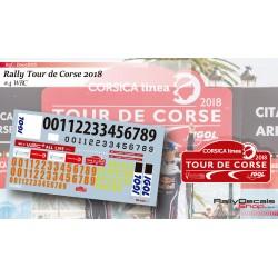 Tour de Corse 2018 Numbers