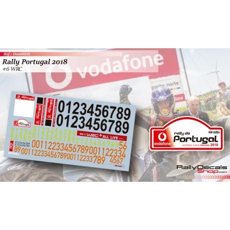 Números Portugal 2018