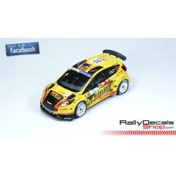 Ford Fiesta R5 - E. Brynildsen - Rally Islas Canarias 2018