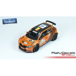 Skoda Fabia R5 - Davy Vanneste - Rally Ypres 2018