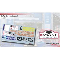 Números Acropolis 2018