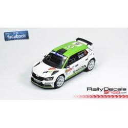Skoda Fabia R5 - Juuso Nordgren - Rally Roma 2018