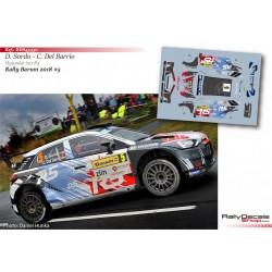 Dani Sordo - Hyundai i20 R5 - Rally Barum 2018
