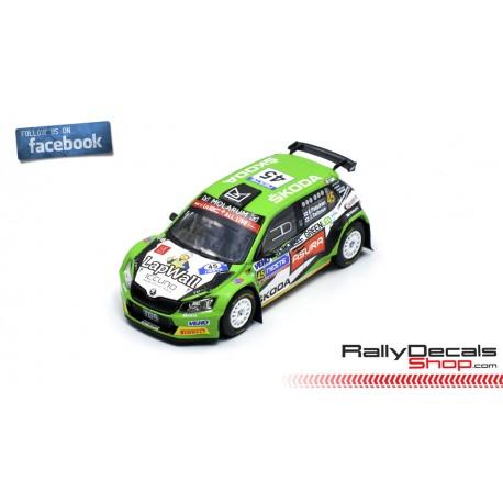 Skoda Fabia R5 - Eerik Pietarinen - Rally Finland 2018