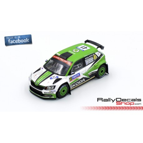 Skoda Fabia R5 - Kalle Rovanpera - Rally Finland 2018