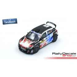 Hyundai i20 R5 - Dani Sordo - Rally Barum 2018