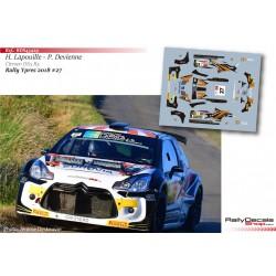Hugues Lapouille - Citroen DS3 R5 - Rally Ypres 2018