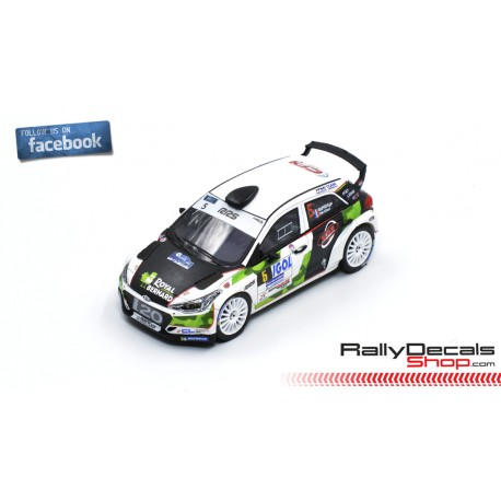 Hyundai i20 R5 - Bryan Bouffier - Rally Touquet 2018