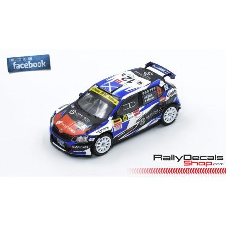 Skoda Fabia R5 - David Bogie - Rally Ypres 2018