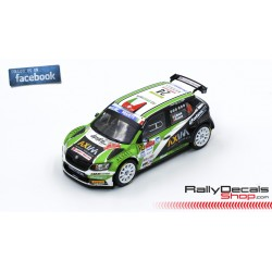 Skoda Fabia R5 - Giandomenico Basso - Rally Roma 2018