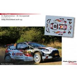 Kajetan Kajetanowicz - Ford Fiesta R5 - Rally Deutschland 2018