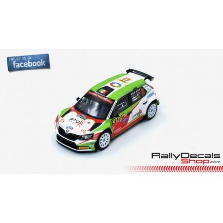 Skoda Fabia R5 - Benito Guerra - Rally Deutschland 2018