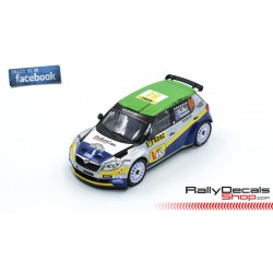 Skoda Fabia S2000 - Hayden Paddon - Rally Deutschland 2013