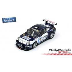 Porsche 997 GT3 - Sergio Vallejo - Rally Ourense 2009