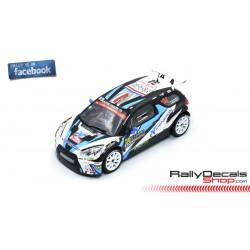 Citroen DS3 R5 - Quentin Giordano - Rally Montecarlo 2016