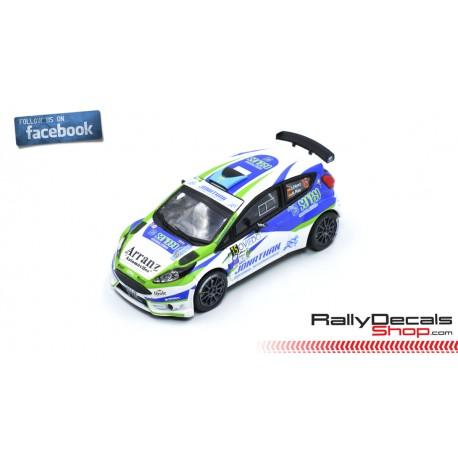 Ford Fiesta R5 - Jonathan Pérez - Rally Princesa Asturias 2018
