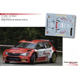 Dani Solá - Skoda Fabia R5 - Rally Princesa Asturias 2018