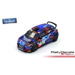 Hyundai i20 R5 - Quentin Giordano - Rally Lyon Charbonnieres 2018