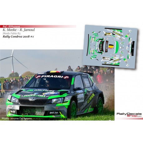 Kris Meeke - Skoda Fabia R5 - Rally Condroz 2018