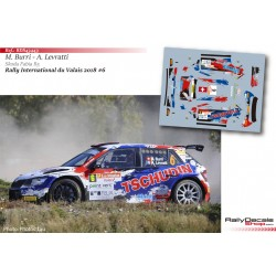 Michael Burri - Skoda Fabia R5 - Rally Valais 2018