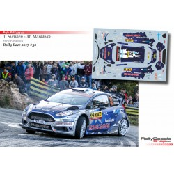 Teemu Suninen - Ford Fiesta R5 - Rally Catalunya 2017