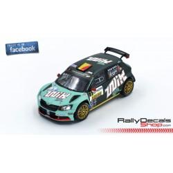 Skoda Fabia R5 - Ghislain de Mevius- Rally Condroz 2018