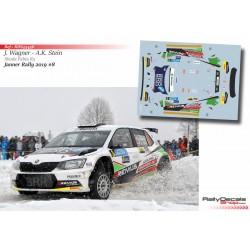 Julian Wagner - Skoda Fabia R5 - Rally Janner 2019