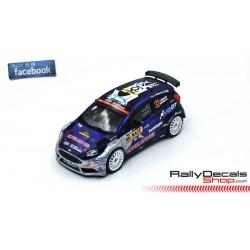 Ford Fiesta R5 - Teemu Suninen - Rally Catalunya 2018