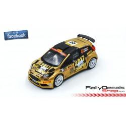 Ford Fiesta R5 - Nil Solans - Rally Catalunya 2018
