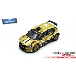 Skoda Fabia R5 - Skoda Motorsport Show Car